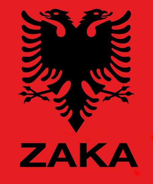 Albanian eagle with name